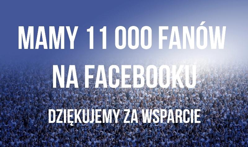 Mamy ponad 11 000 fanów na Facebooku