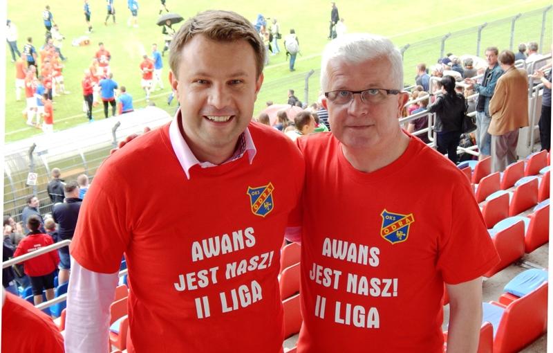 """Pamiątkowe koszulki """"Awans Jest Nasz!"""""""