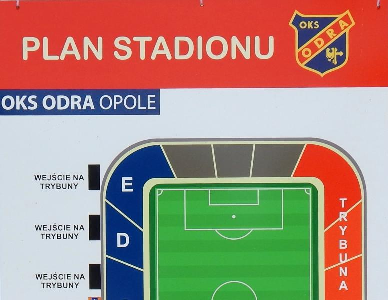 Stadion przy Oleskiej przygotowany do ligi