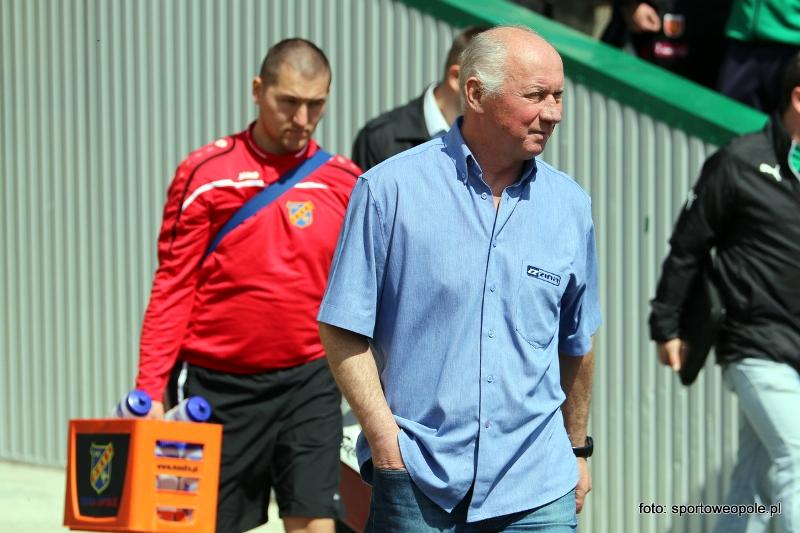 W II lidze Odra wciąż z trenerem Furlepą