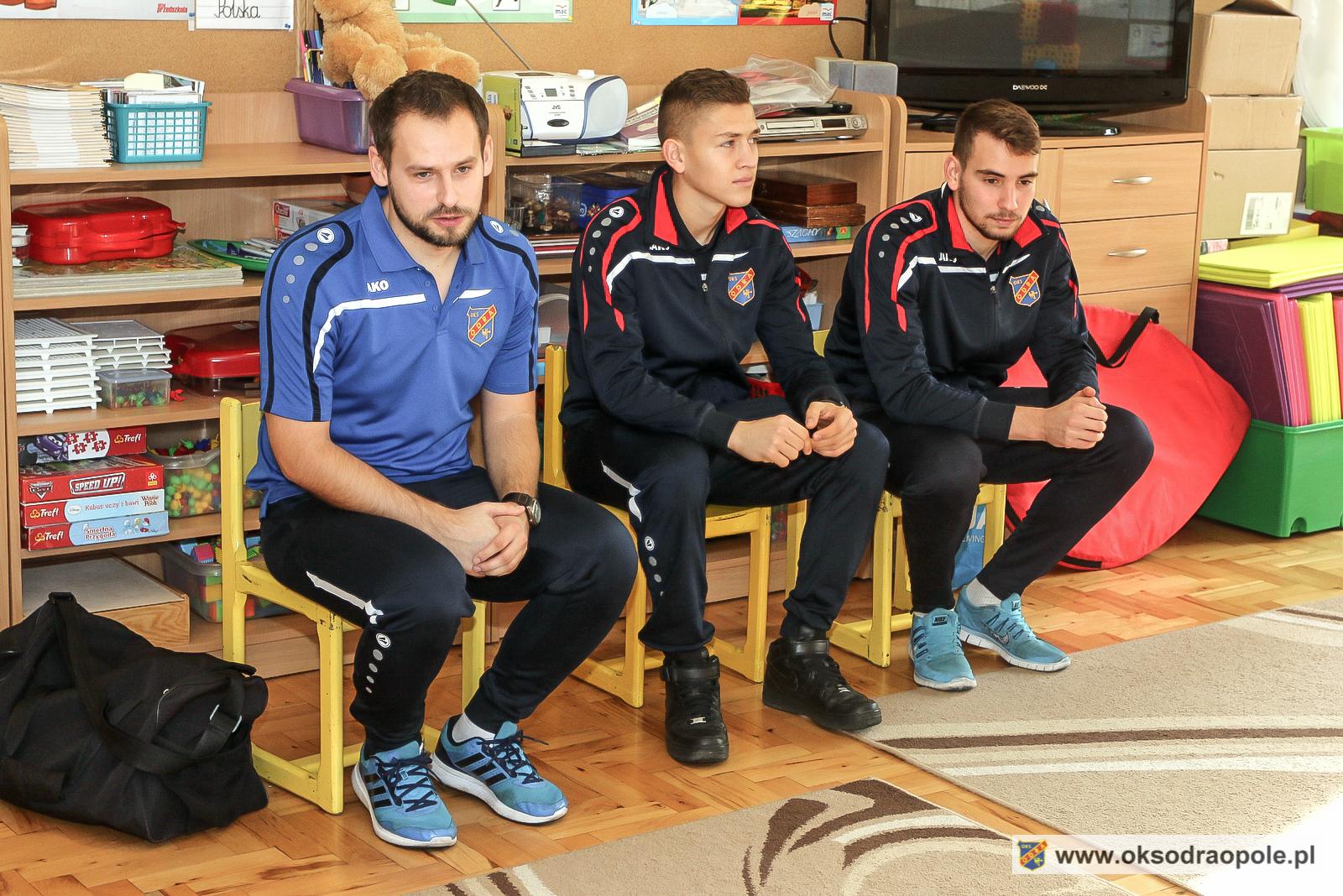 Odra Opole odwiedza kolejne przedszkola