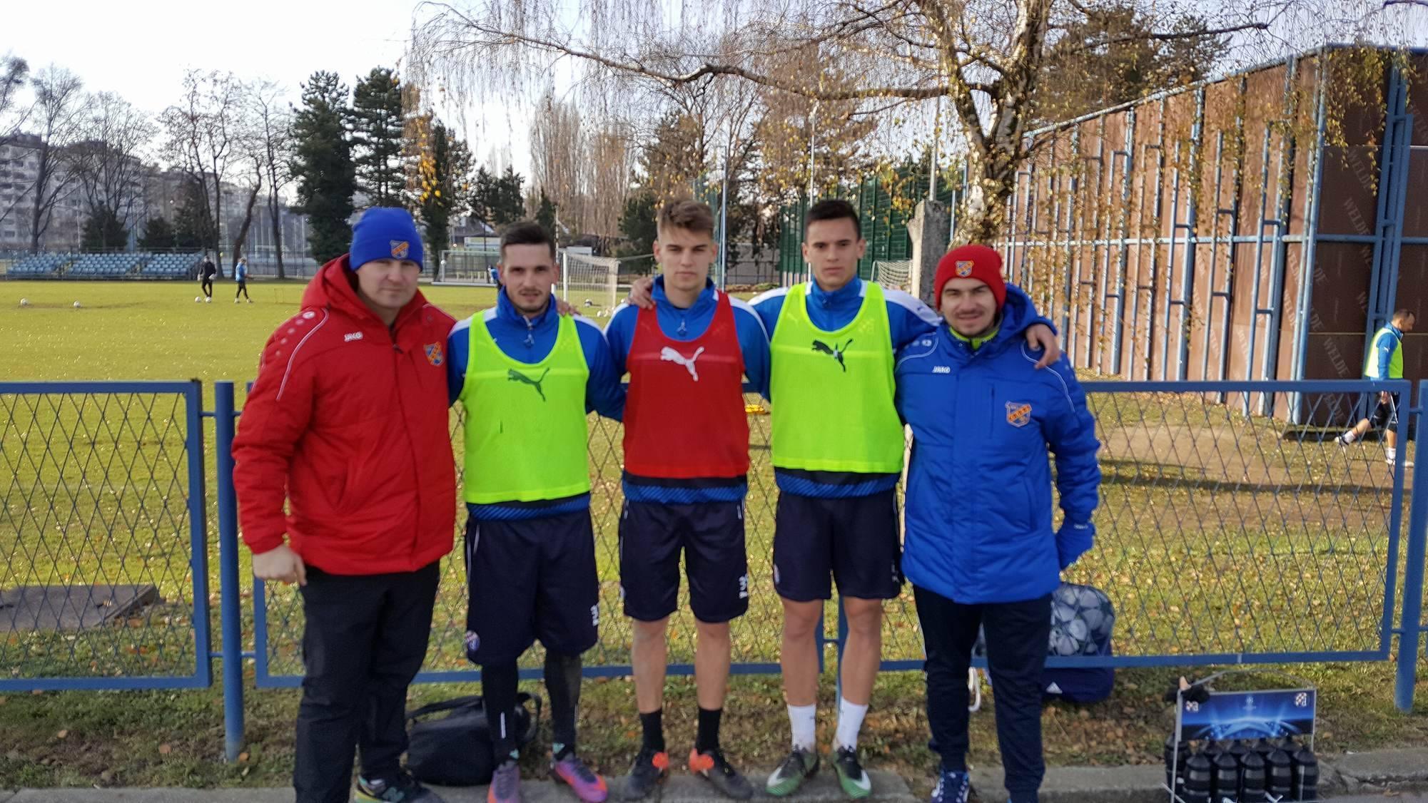 Trenerzy Odry na stażu w Zagrzebiu