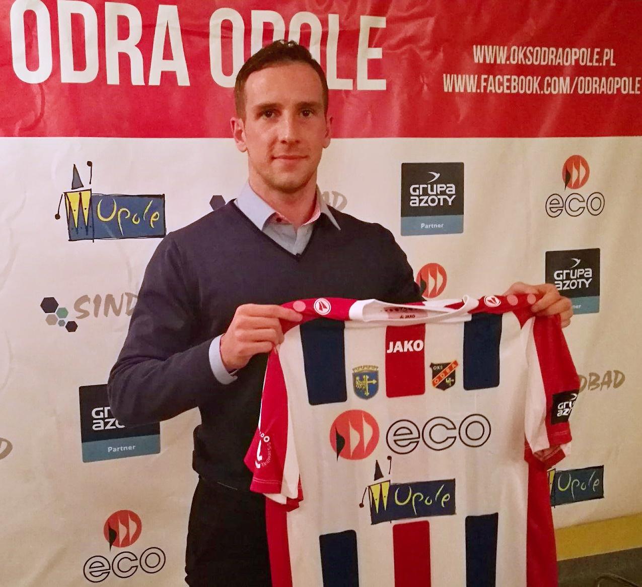 Mateusz Wrzesień piłkarzem Odry Opole