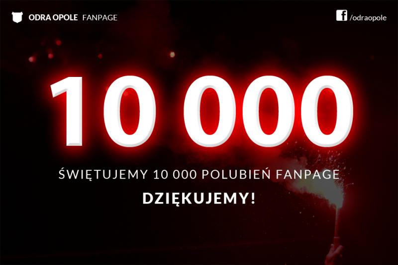 Fanpage Odry Opole pobił kolejny rekord