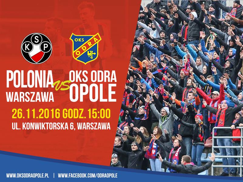 Już jutro mecz w Warszawie