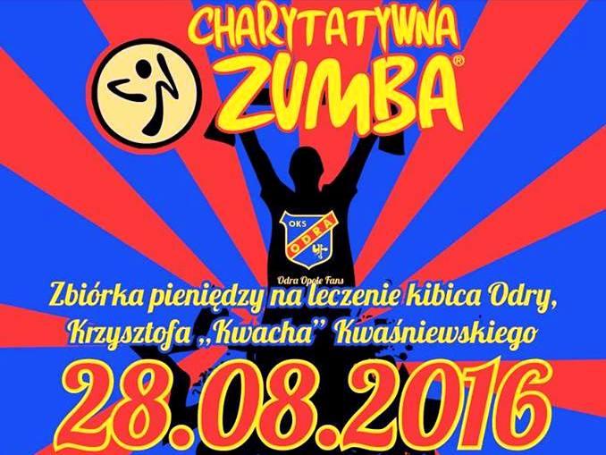 Charytatywna Zumba dla kibica Odry Opole
