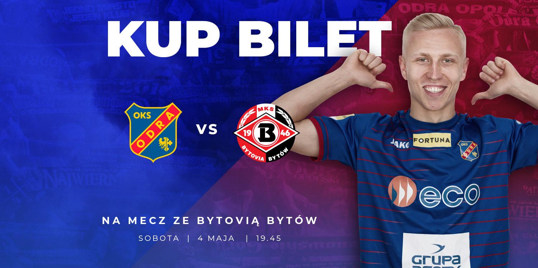 Przedsprzedaż biletów na mecz Odra – Bytovia