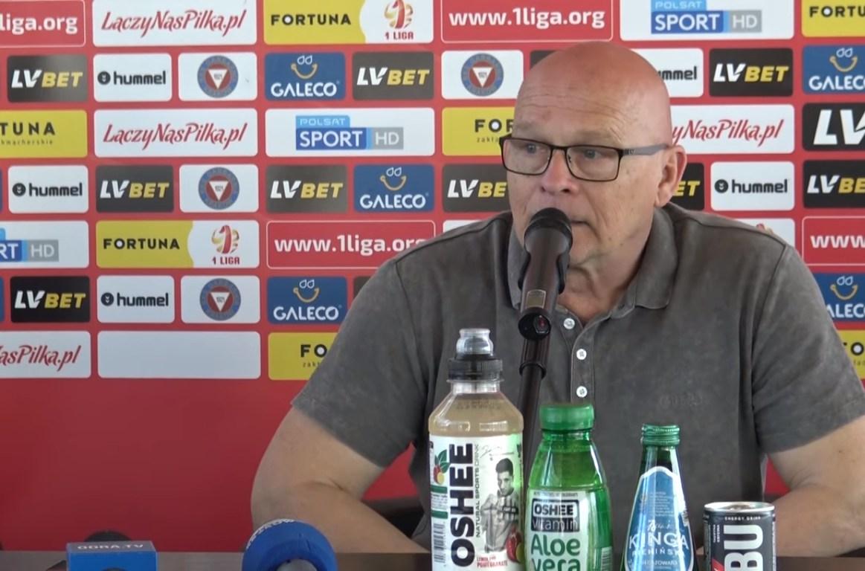 Trener Garbarni: Wynik jest sprawiedliwy