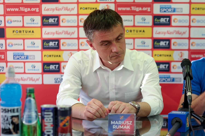 Mariusz Rumak: Zespół pokazał charakter