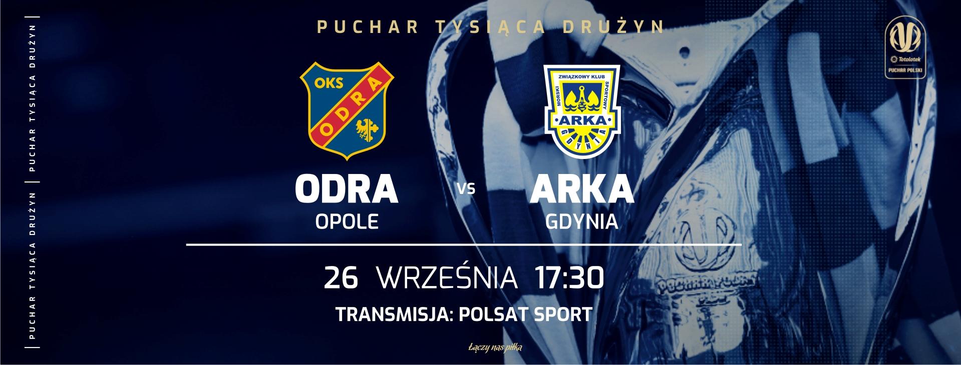 Harmonogram sprzedaży biletów na mecz pucharowy z Arka Gdynia