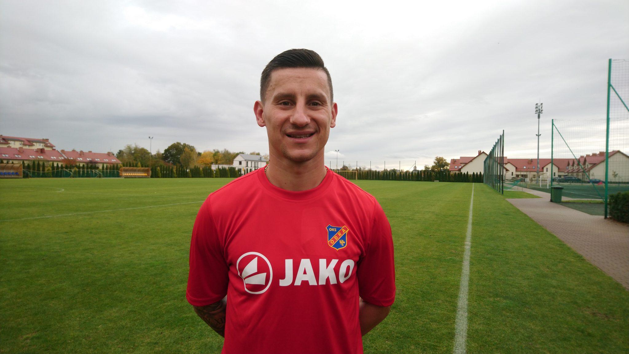 Arkadiusz Piech rozpoczął treningi z Odrą Opole.