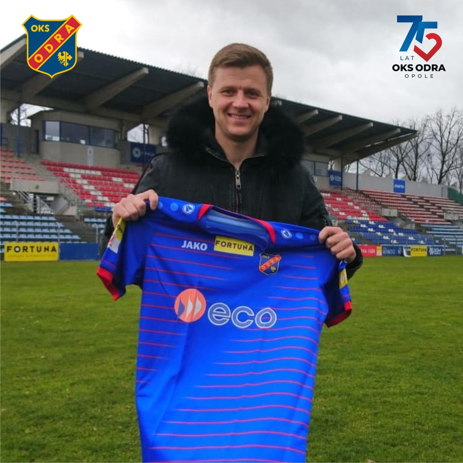Vitalii Fedotov kolejnym wzmocnieniem Odry!