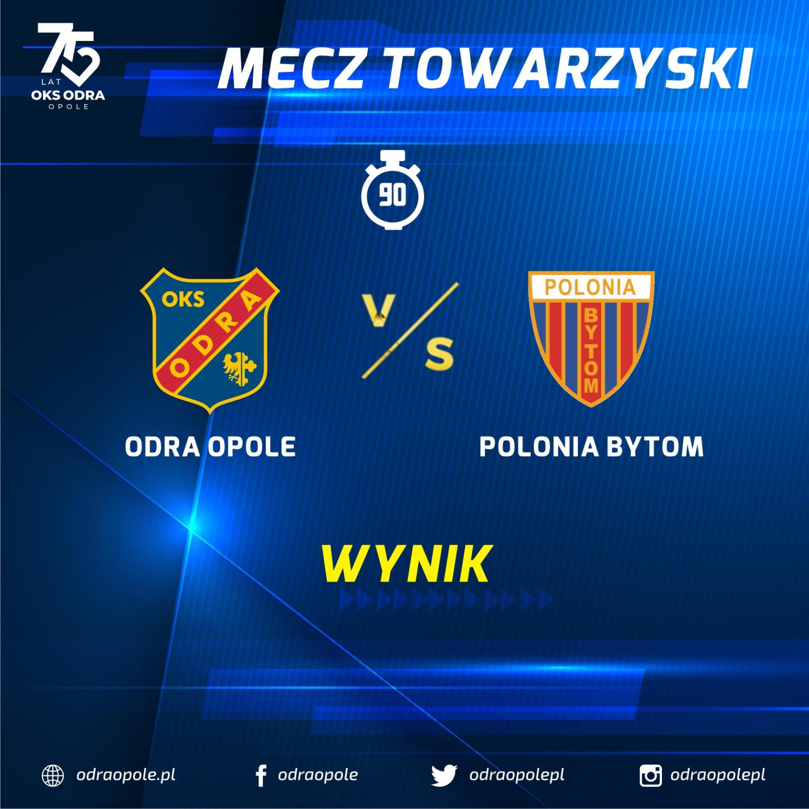 Odra Opole – Polonia Bytom