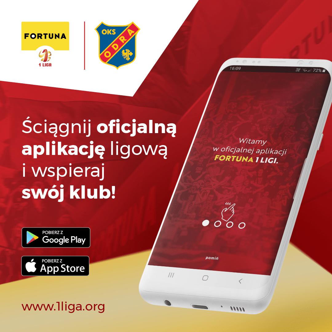Ściągnij aplikację, wspieraj OKS Odrę Opole!