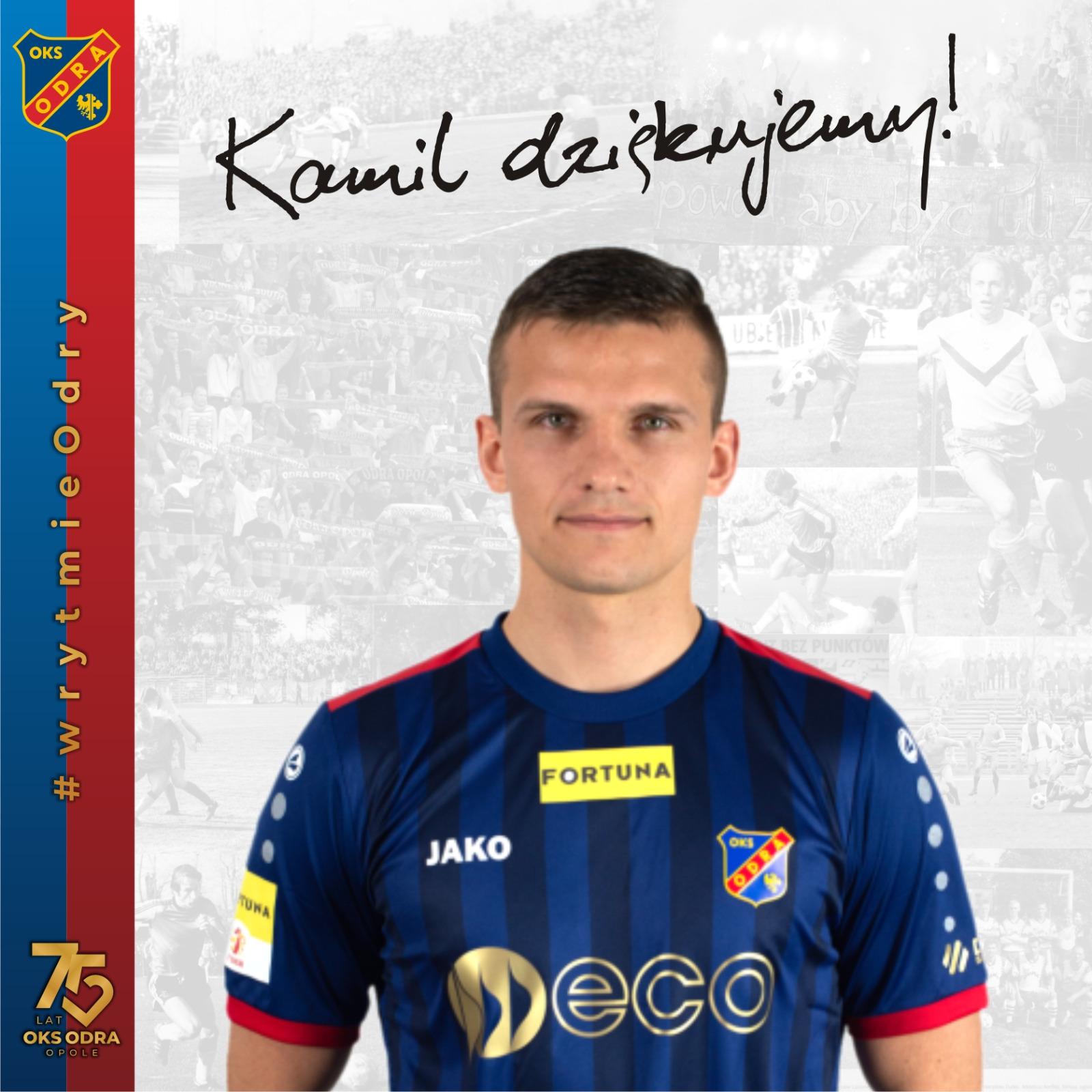 Kamil Słaby odchodzi z Odry