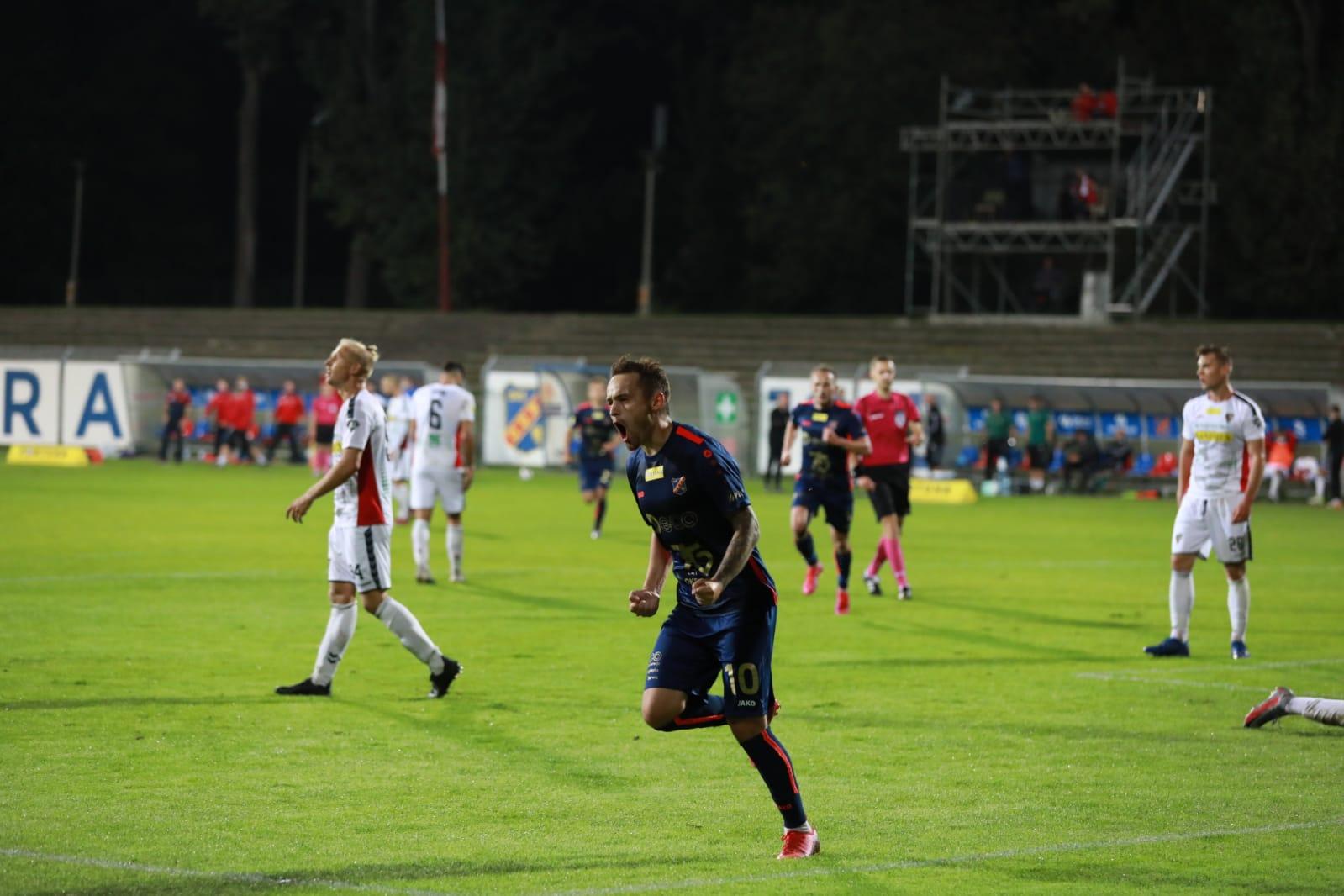 Odra Opole – Zagłębie Sosnowiec 1-0