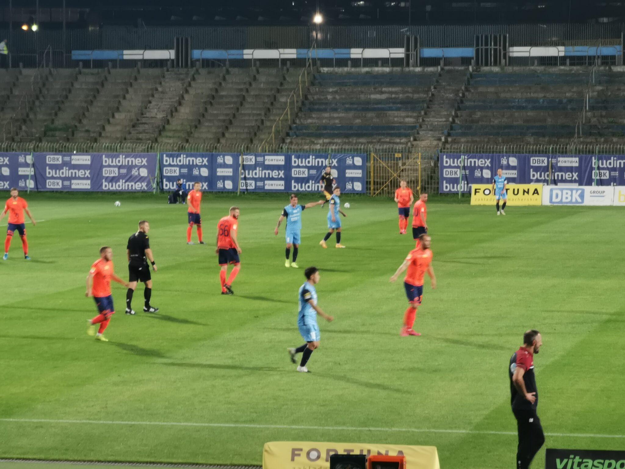 Stomil Olsztyn – Odra Opole 0-1
