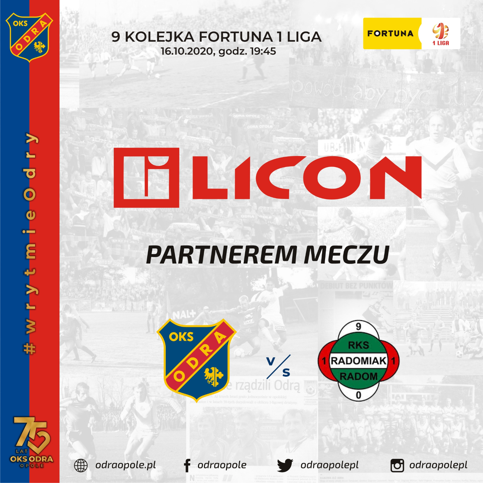 Firma LICON International partnerem meczu z Radomiakiem Radom