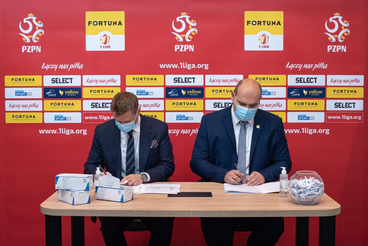 ZARYS Oficjalnym Partnerem Medycznym Fortuna 1 Ligi