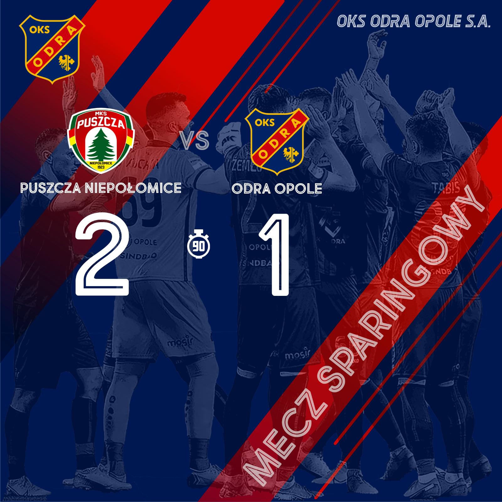 Puszcza Niepołomice – Odra Opole 2-1