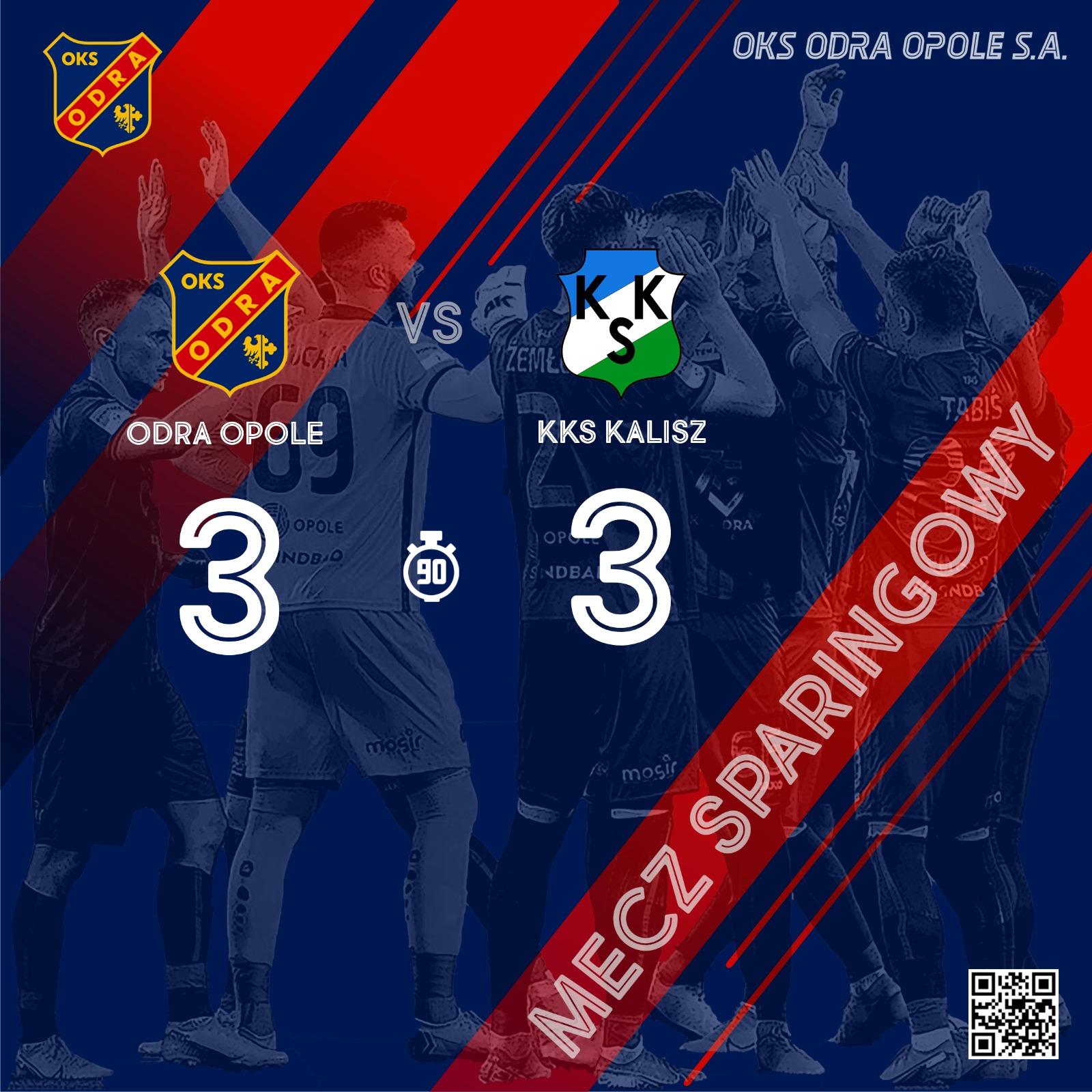 Odra Opole – KKS Kalisz 3-3