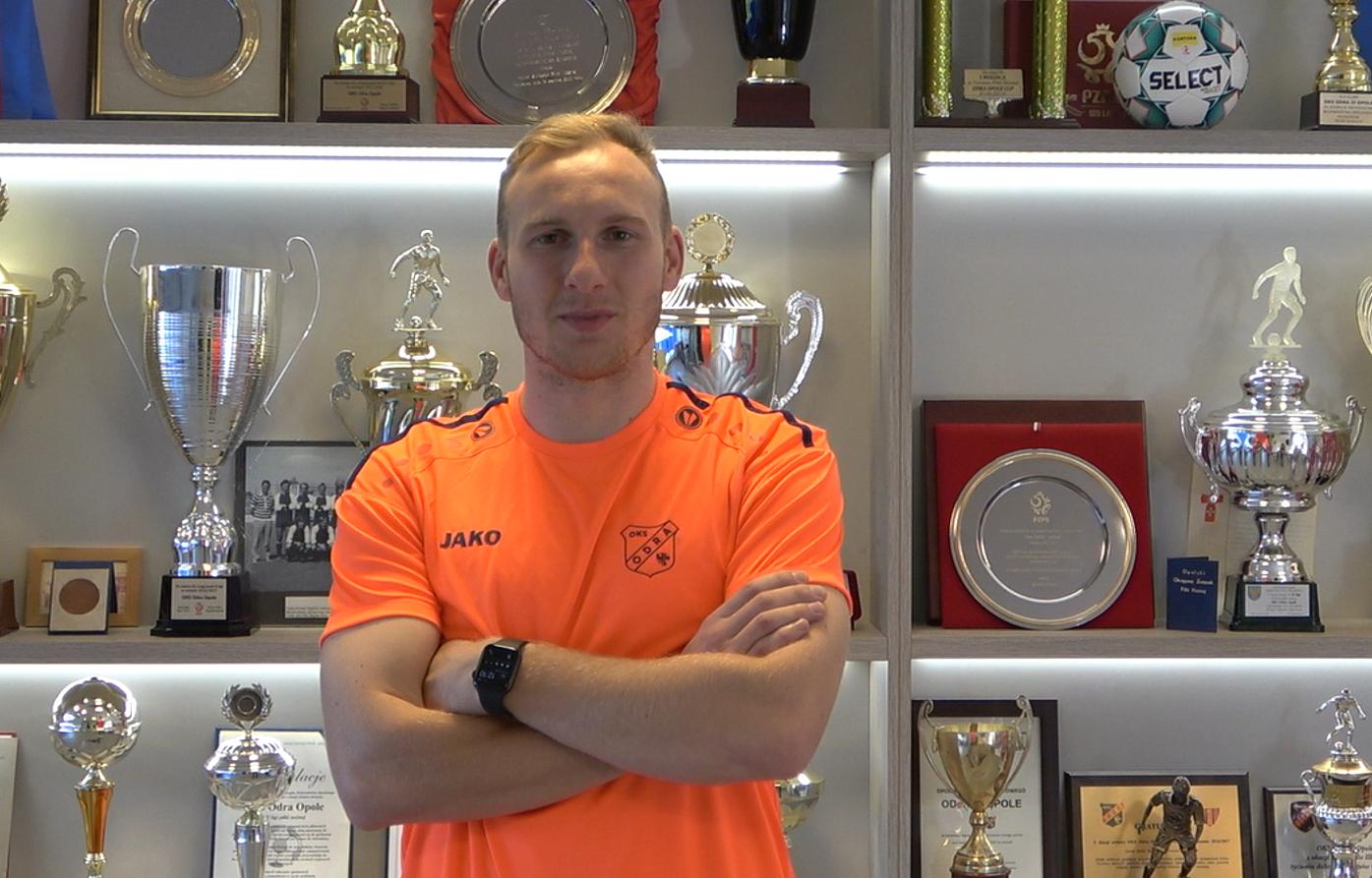 Adam Żak piłkarzem Odry Opole