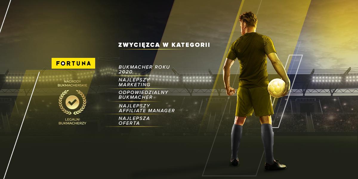 Sponsor I ligi, Fortuna, z tytułem najlepszego Bukmachera Roku 2020!