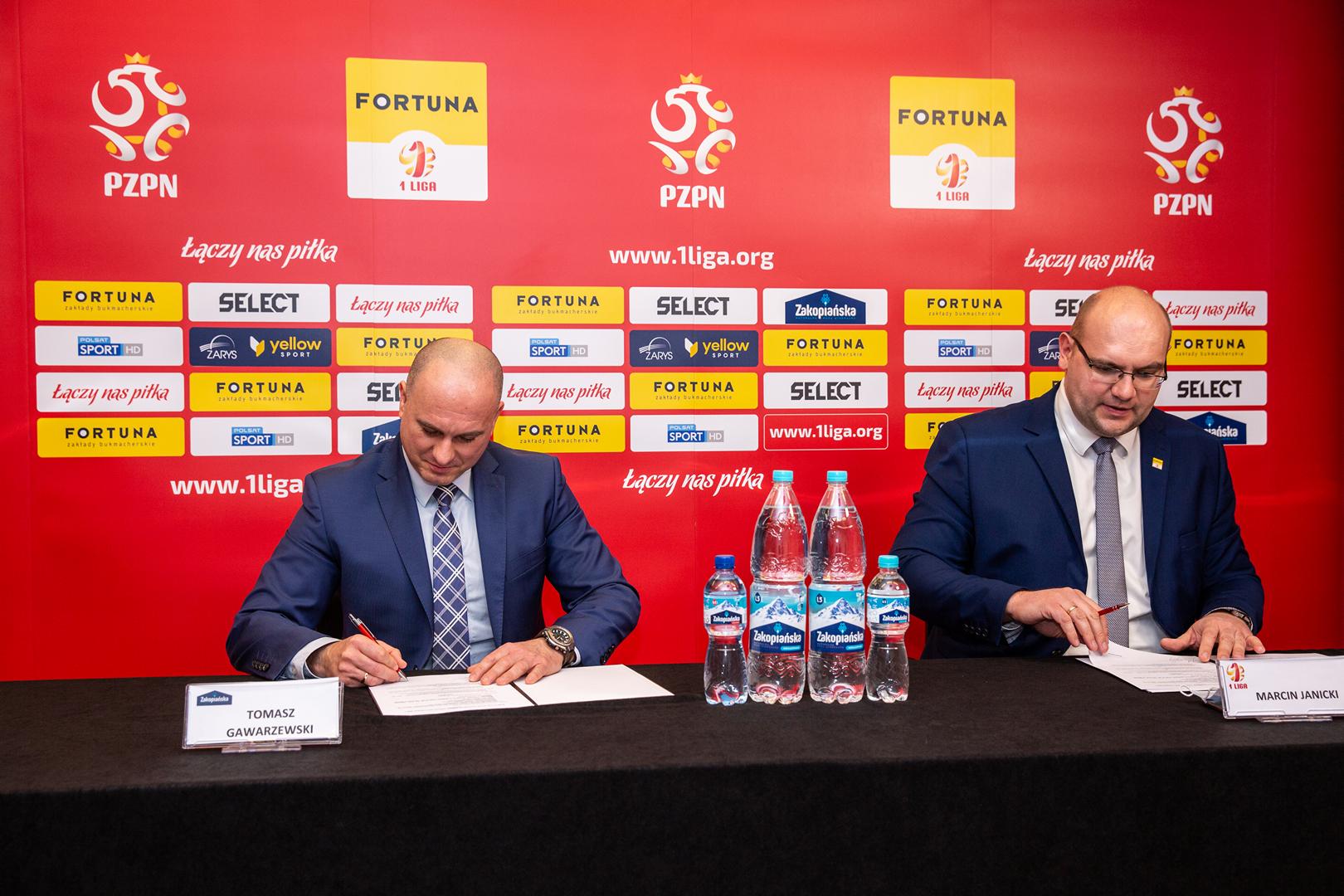 Zakopiańska Oficjalnym Partnerem Fortuna 1 Ligi
