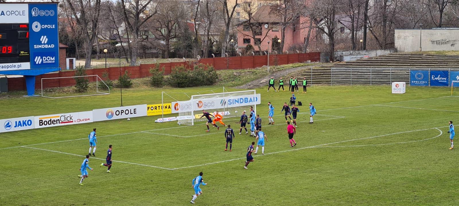 Odra Opole – Stomil Olsztyn 1-2