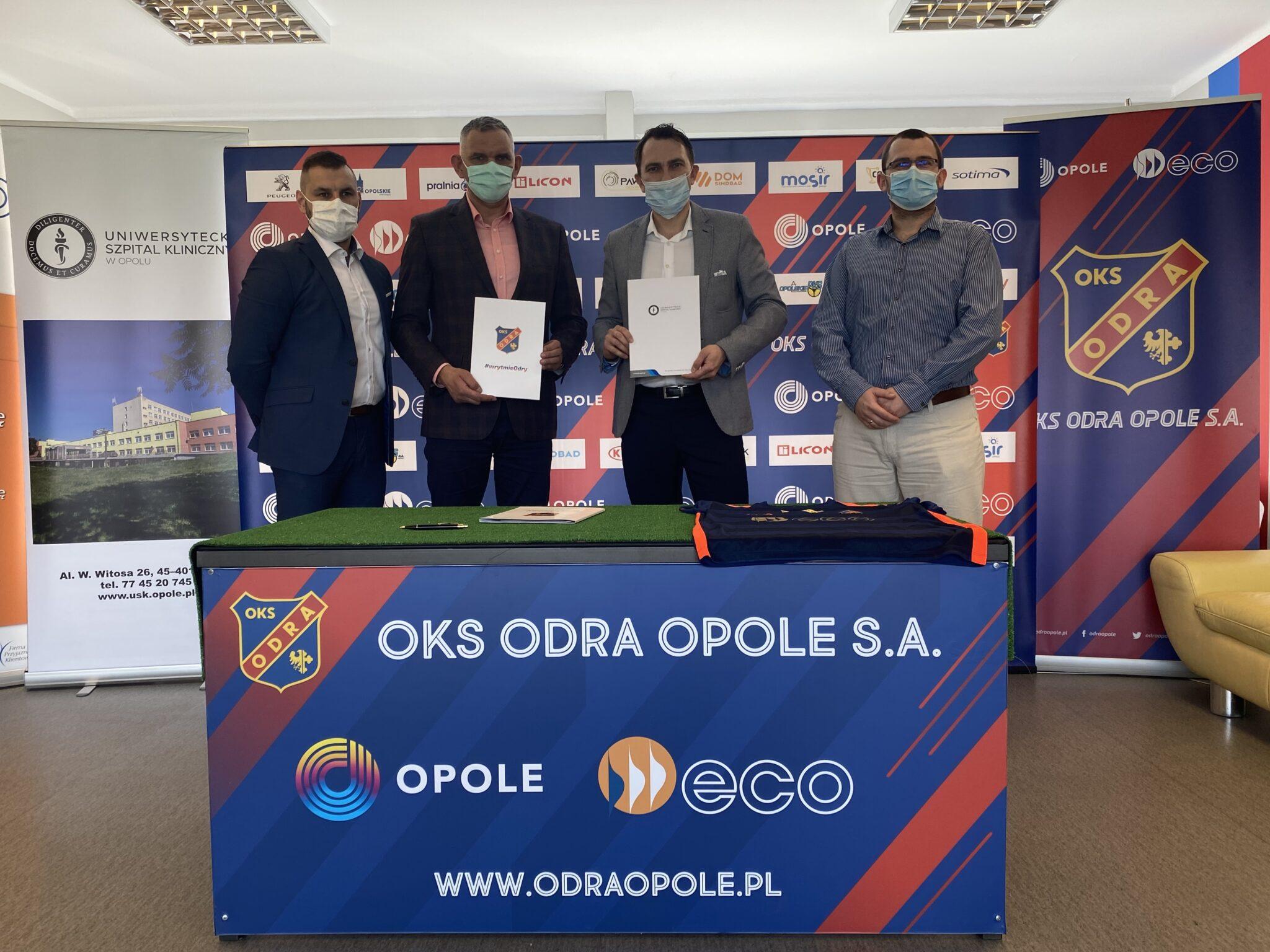 USK w Opolu partnerem medycznym OKS ODRA Opole