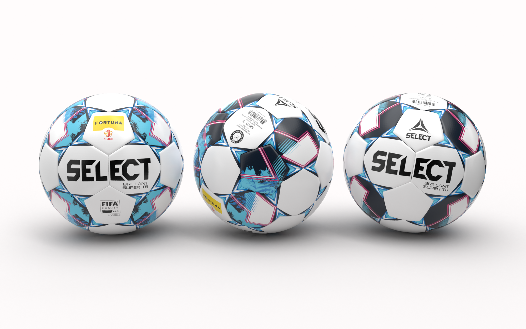 Nowa Piłka Select Brillant Super TB V21