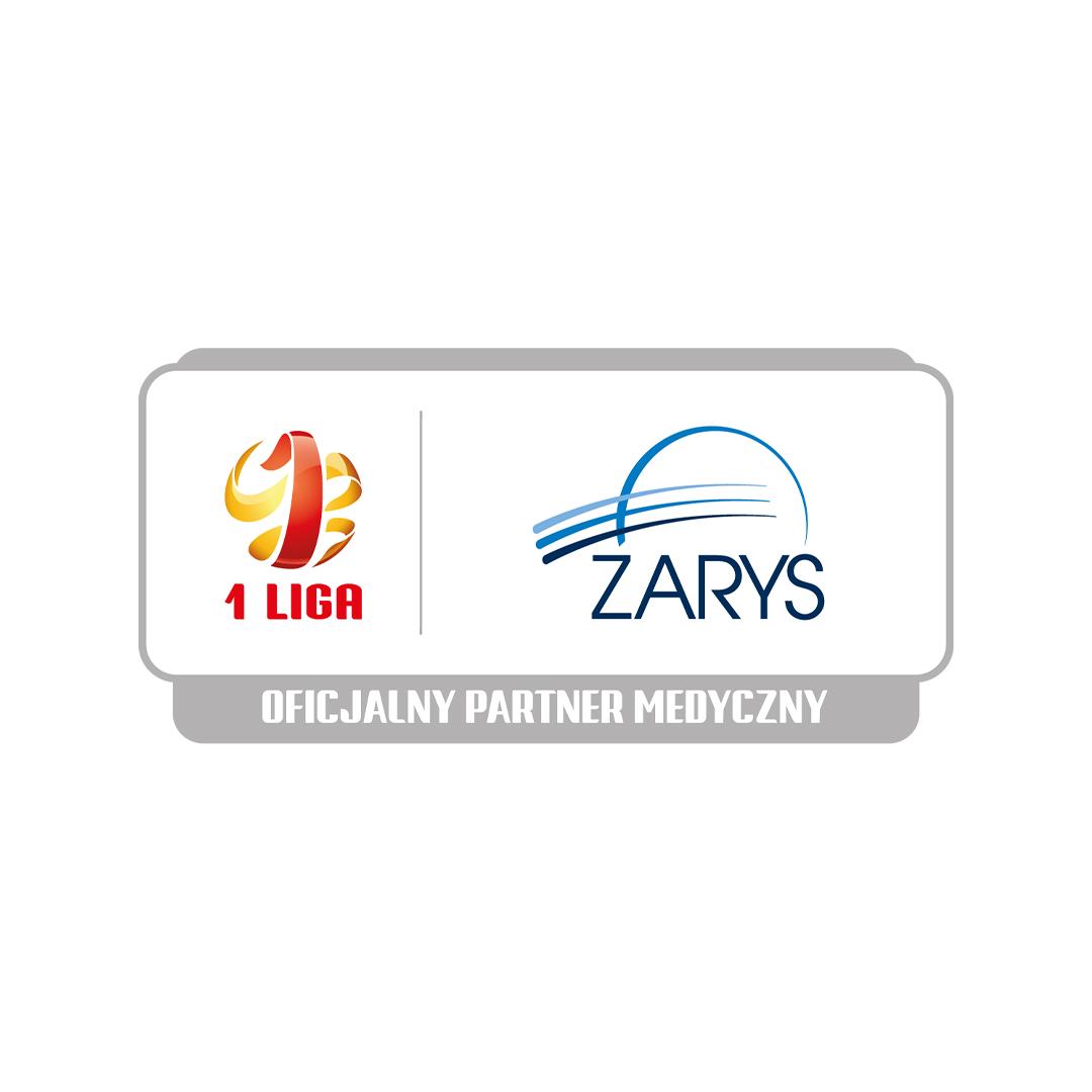 Firma ZARYS nadal partnerem medycznym Fortuna I Liga