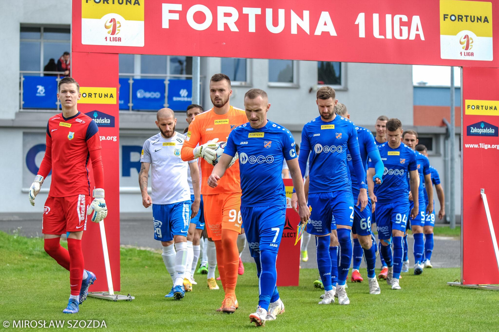 Terminy spotkań 16. i 17. kolejki Fortuna 1 Liga