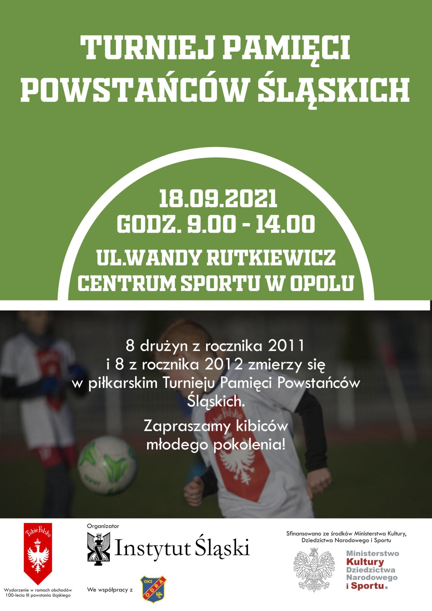 Turniej Pamięci Powstańców Śląskich